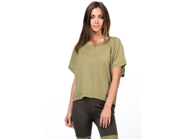 super.natural Peyto Maglietta Donna, verde